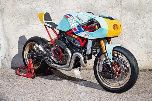 Ducati Monster 821 Pantah: una café racer pensata per le prestazioni