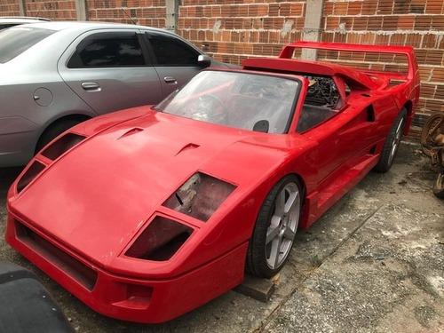 Costruisce replica F40: Ferrari lo denuncia (5)