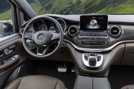 Standard ridefiniti con la nuova Mercedes Classe V