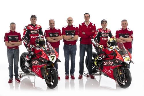 SBK 2019. Presentato il team Aruba.it Racing Ducati