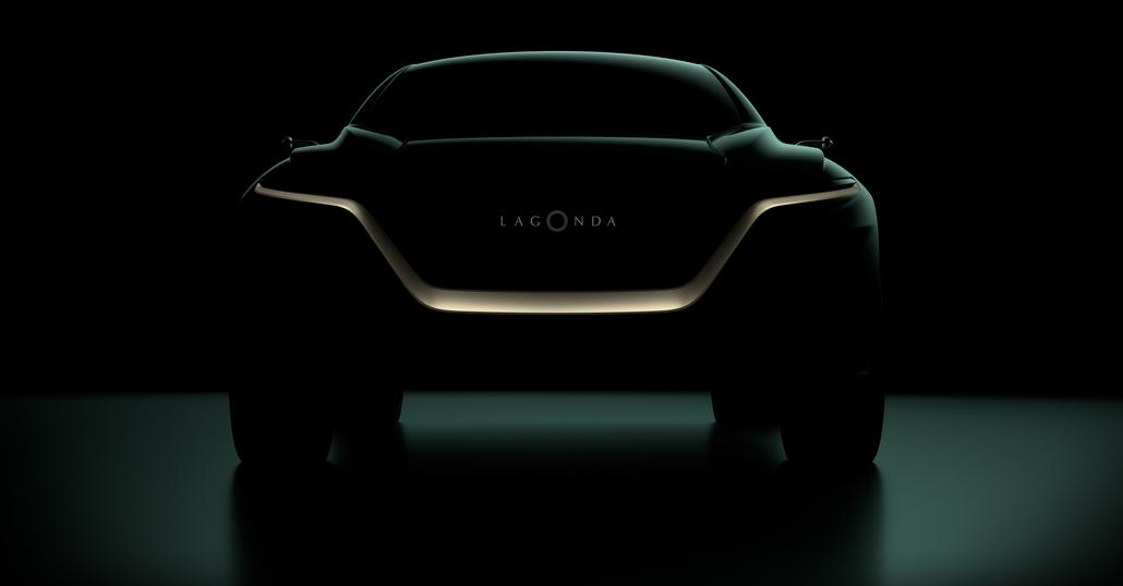 Aston Martin Lagonda, a Ginevra una concept elettrica