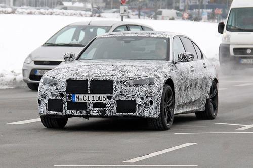 Nuova BMW M3, le foto spia (2)