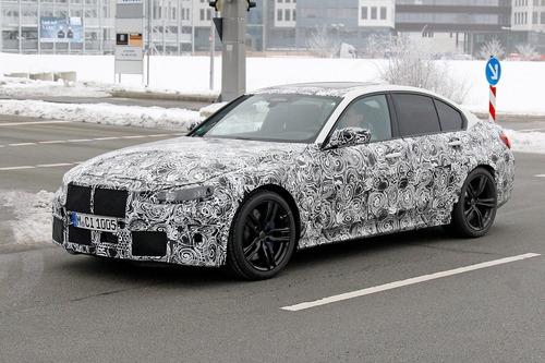 Nuova BMW M3, le foto spia (5)