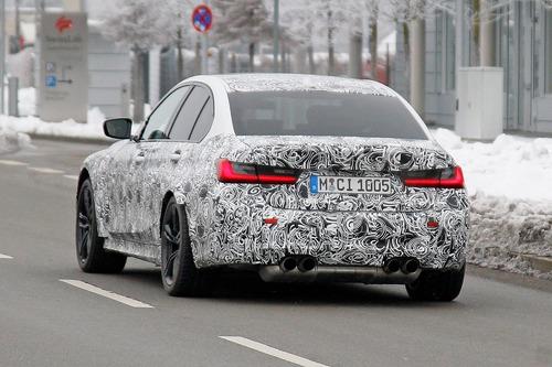 Nuova BMW M3, le foto spia (6)