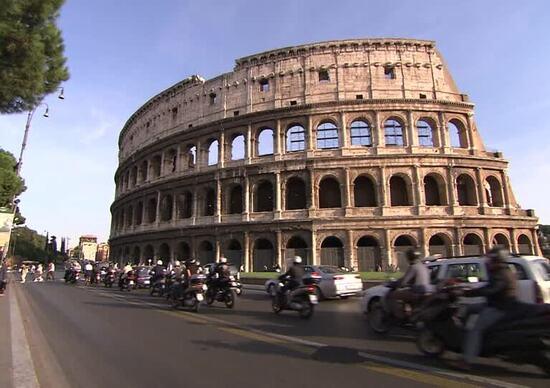 Roma, domenica 10 febbraio blocco del traffico