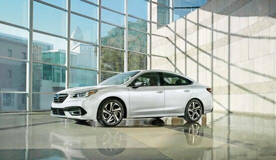 La nuova Subaru Legacy