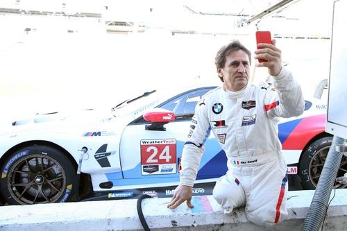 Zanardi racconta la sua 24 ore di Daytona con la BMW M8 GTE