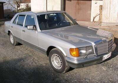 380 SEL d'epoca del 1986 a Pellegrino Parmense