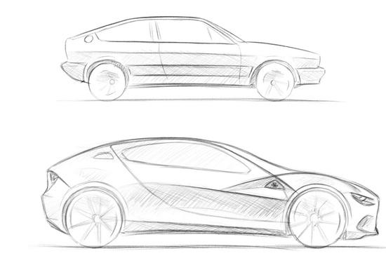 Vecchia idea, nuova fantasia: Alfasud GT elettrica