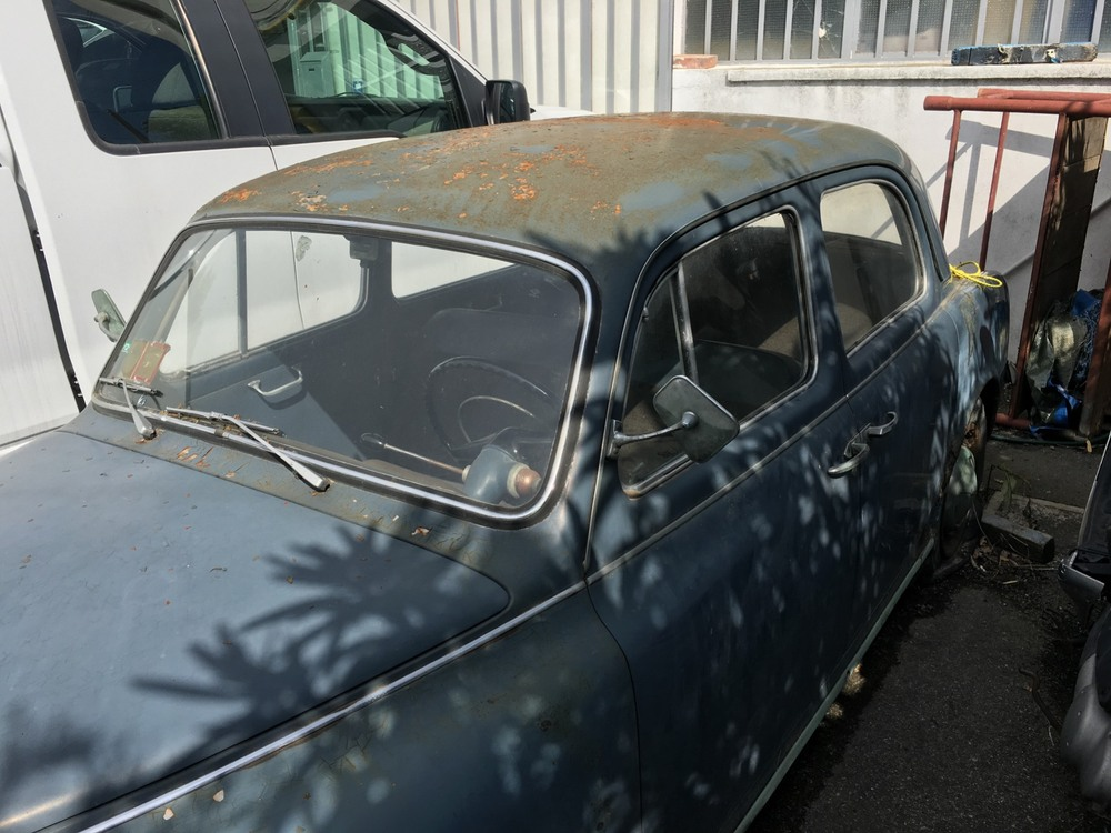 Appia II Serie d'epoca del 1956 a Ferrara (3)