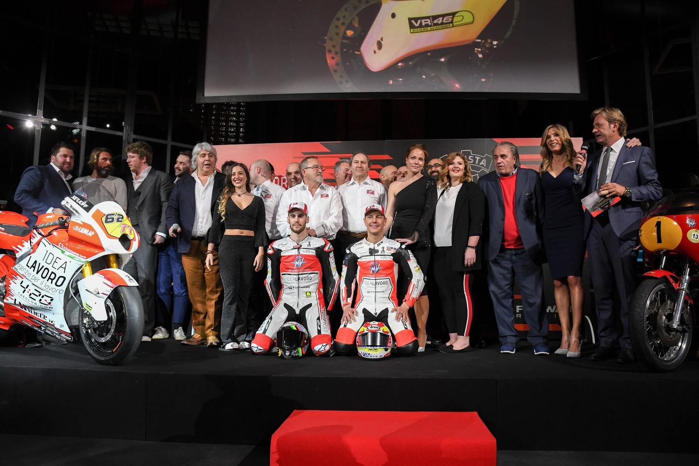 Moto2. Svelato il Team MV Agusta 2019