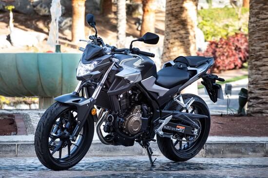 La Honda CB500F 2019