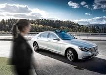 Mercedes Cooperative Car, guida autonoma che interagisce