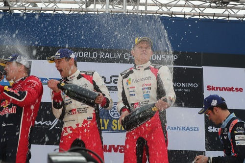 WRC19. Svezia. Tanak & Toyota Greatest Hits. Ora un problema (per gli Avversari) (3)