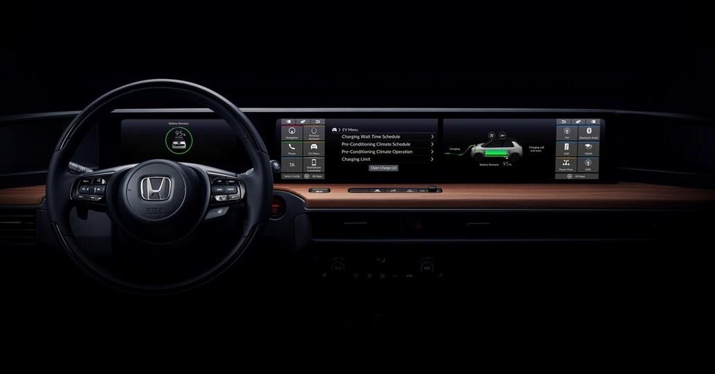 Honda: svelati gli interni del prototipo elettrico