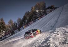 Audi e-tron: il SUV elettrico sfida la leggendaria pista da sci Streif