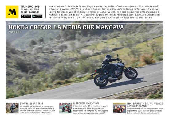 Magazine n° 369, scarica e leggi il meglio di Moto.it