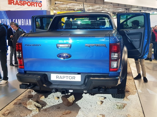 Il retro del Ford Raptor