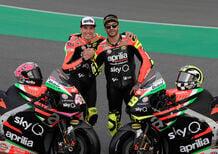 Aprilia MotoGP 2019 di Iannone e Espargarò: ecco la nuova livrea