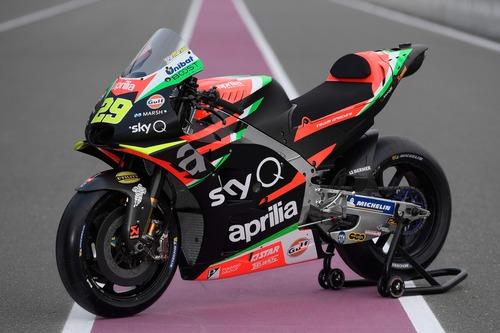 Aprilia MotoGP 2019 di Iannone e Espargarò: ecco la nuova livrea (6)