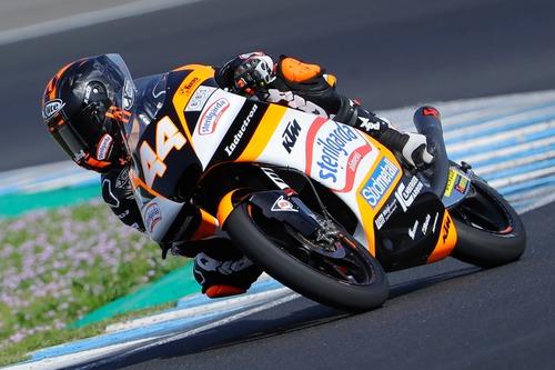 Biaggi e lo Sterilgarda Max Racing Team nel mondiale Moto3 con Canet (2)