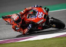 """Test MotoGP. Dovizioso: """"Non è il modo migliore di finire i test"""""""