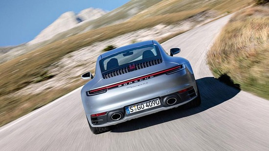 La nuova Porsche 911