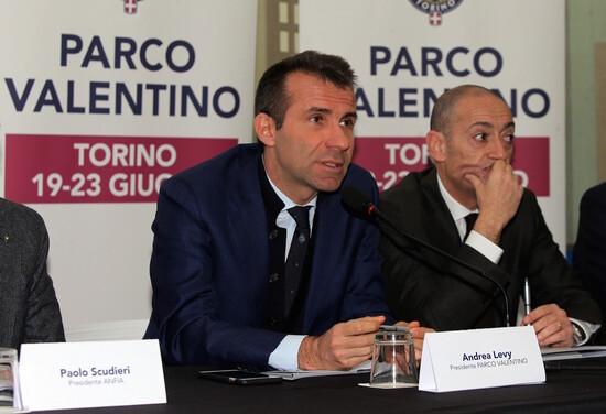 Andrea Levy, presidente di Parco Valentino, durante la presentazione della quinta edizione dell'evento torinese