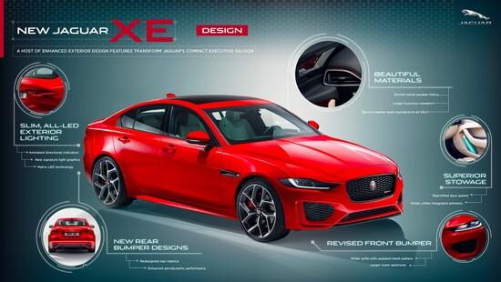 Due benzina (200 CV e 300 CV) e un diesel (180 CV) per la Jaguar XE 2019