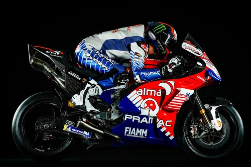 Ducati Pramac: la livrea 2019 di Bagnaia e Miller (3)