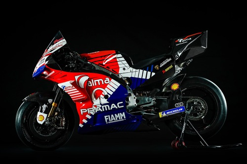 Ducati Pramac: la livrea 2019 di Bagnaia e Miller (6)
