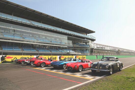 In Autodromo a Monza, le classiche si cimentano per giri cronometrati