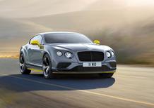 Bentley Continental GT Speed 2016 esagerata: 642 CV dal W12