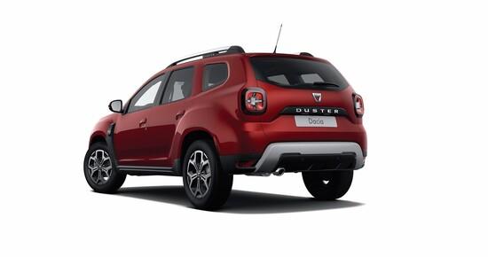 La Dacia Duster in allestimento Techroad