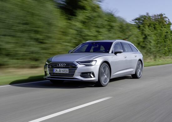 La Audi A6 Avant