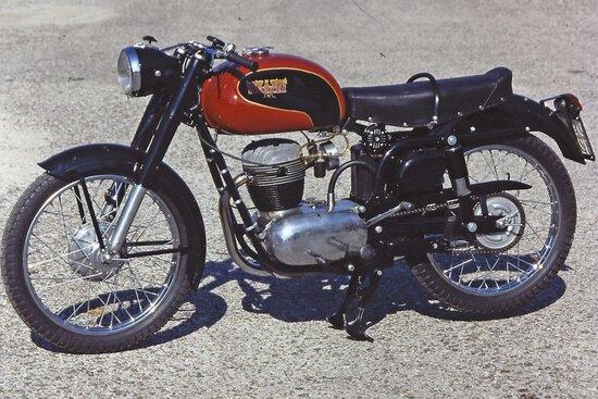 La Bianchi 175 Tonale del 1954