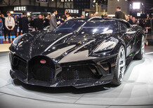 Salone di Ginevra 2019, Salomé, Bugatti: «La Voiture Noire è un'auto haute couture»