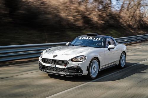 Abarth 124 rally 2019, lo Scorpione da corsa si rinnova (2)