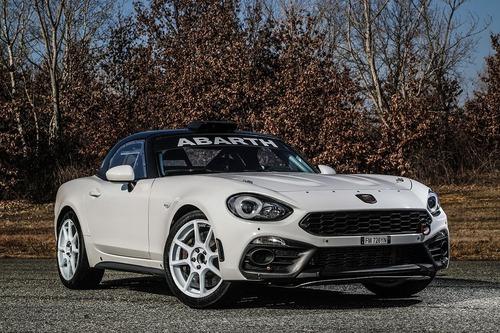 Abarth 124 rally 2019, lo Scorpione da corsa si rinnova (4)
