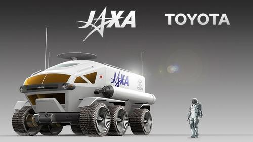 Toyota, ecco il veicolo da 6 metri che andrà sulla Luna [Video] (2)