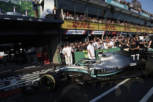 F1, GP Australia 2019: vince Bottas. Quarto Vettel (6)