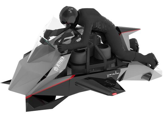 La prima moto volante? Disponibile dal 2020