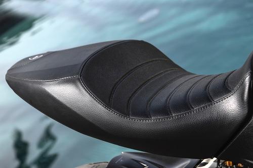 La sella Premium in vera pelle per Ducati Diavel 1260S