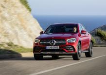 Mercedes GLC Coupé restyling, le prime immagini