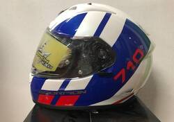Casco Scorpion EXO 710 Air GT Blu/Rosso Scorpion Helmets