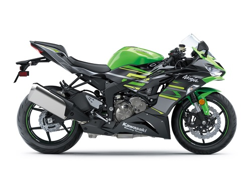 Kawasaki Ninja ZX-6R KRT Lime Green/Ebony/ Metallic Graphite Gray
