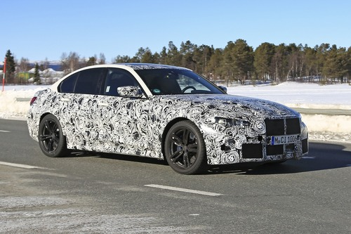 BMW M3 2020: avvistata ancora (Foto spia) (7)