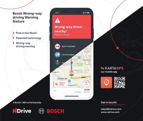 Bosch: avviso di marcia contromano presto di serie (5)