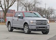 Ford F-150 EV: il pick-up americano diventa elettrico [Foto spia]