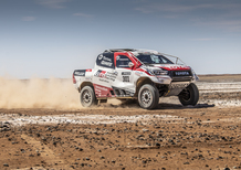 Dakar 2020. Alonso prova la Toyota Hilux. Dakar in vista?